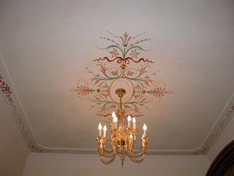 Decorazioni soffitto a grottesche - Decorazioni grottesche ...