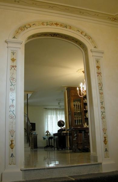 Decorazioni arco a grottesche - Decorazioni grottesche ...
