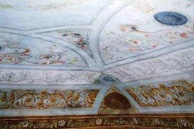restauri › restauro soffitto ottocentesco